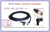 12 Pin Robotic Right Angle CamCable